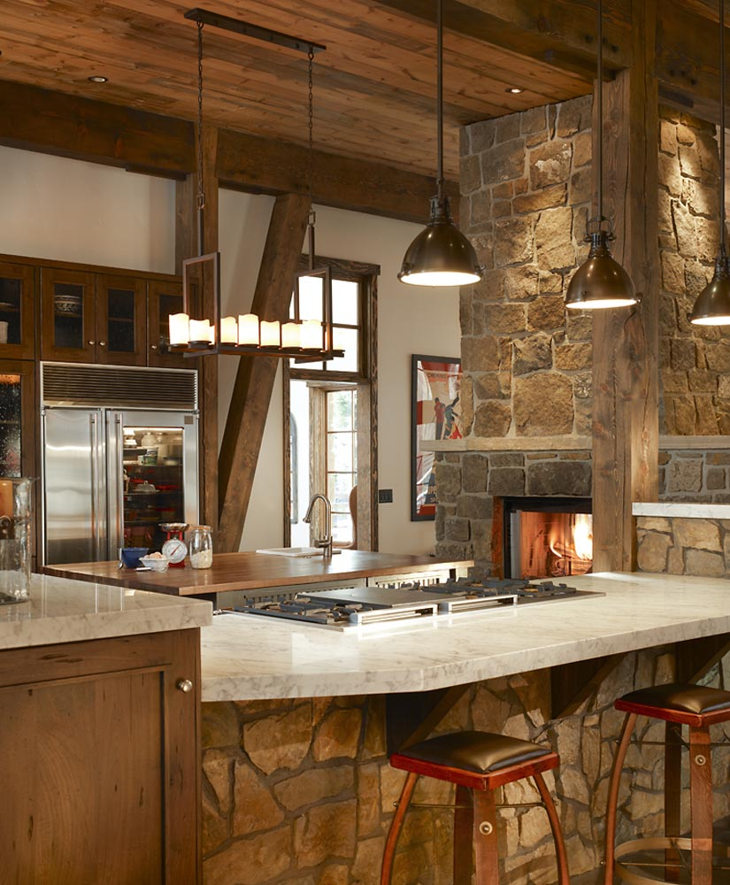 luxury dining and kitchen custom build by gerber berend