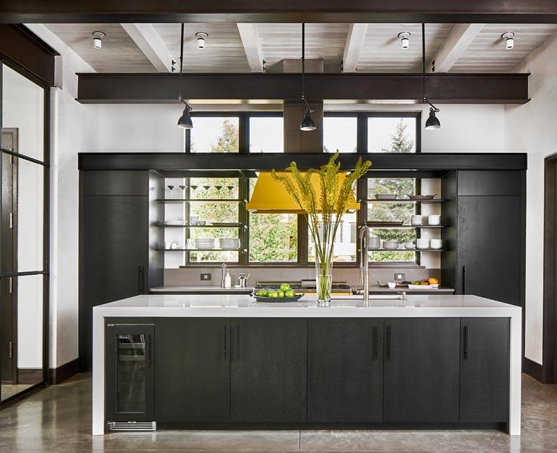custom kitchen design by gerber berend design builds