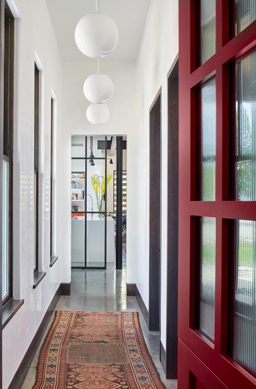 Custom built hallway to kitchen by gerber berend