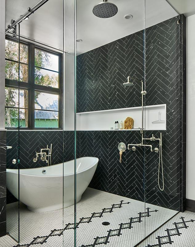 custom shower gerber berend design build