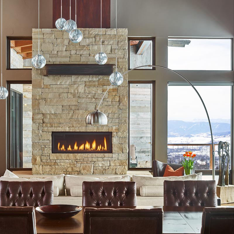 residential custom great room by gerber berend design build