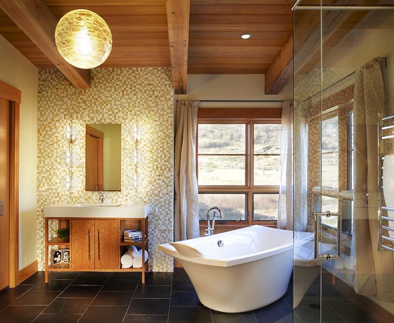 modern bright gerber beren design build bathroom tub