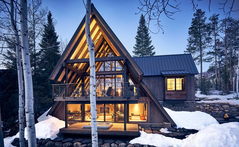 A-frame design gerber berend steamboat springs colorado