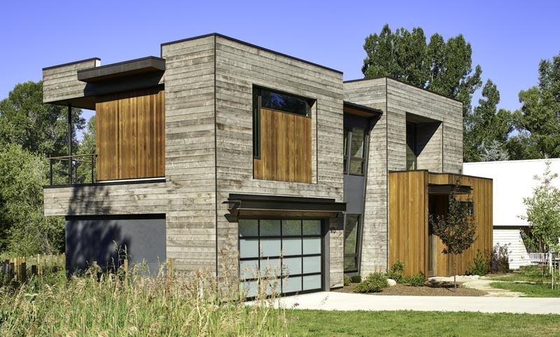 custom home exterior to zen den in steamboat springs