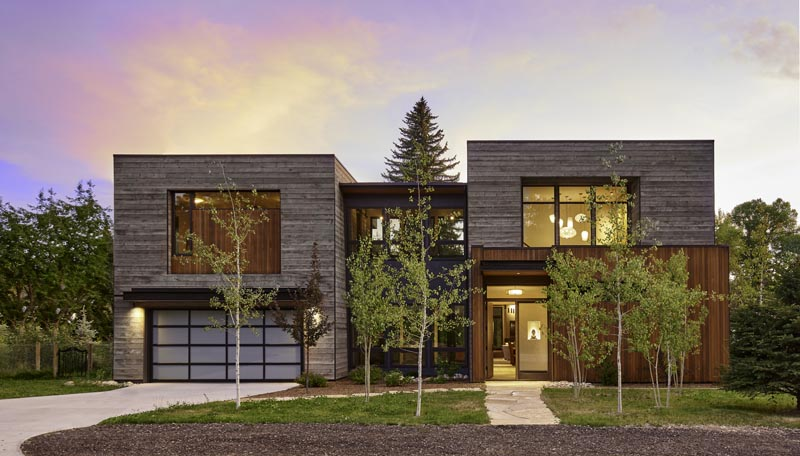 custom home exterior by gerber berend design build
