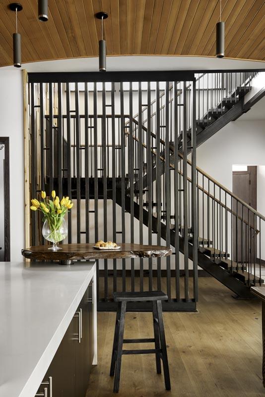 custom stairway design build by gerber berend