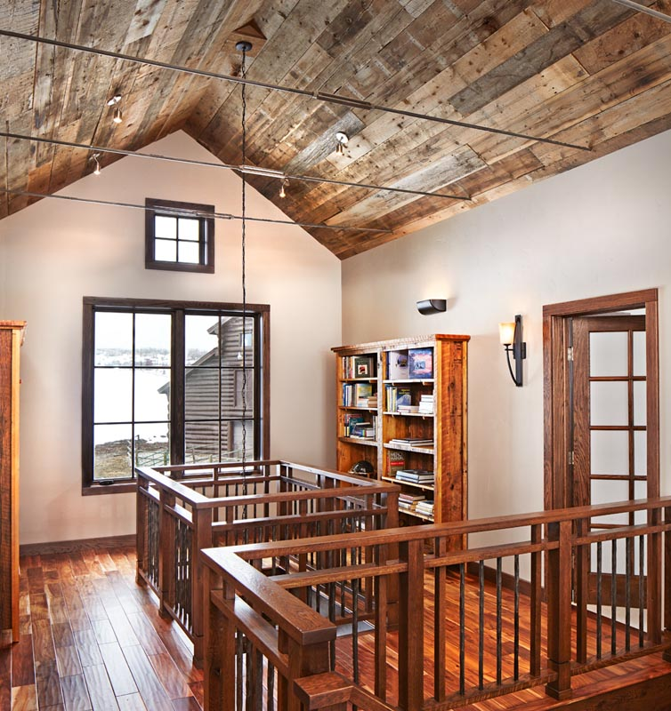 luxury renovations of attic becoming new living space
