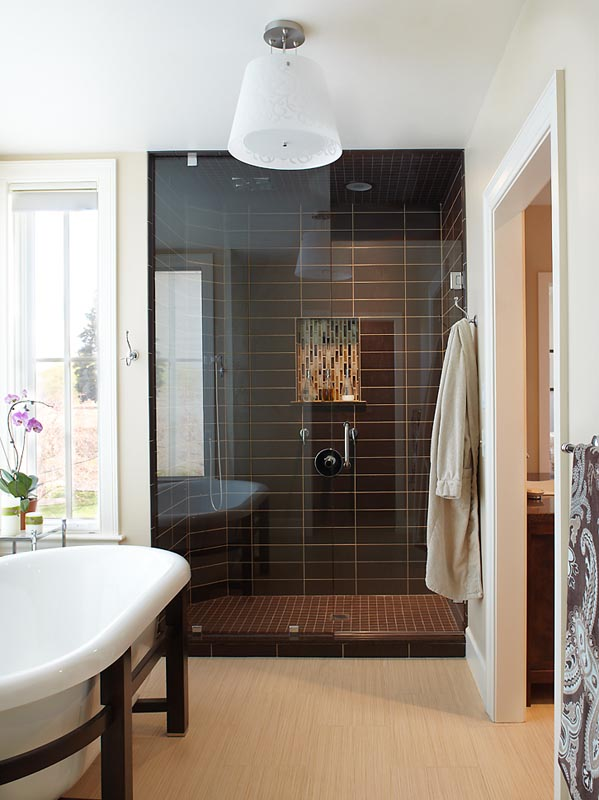 gerber berend custom design build tiled shower and tub