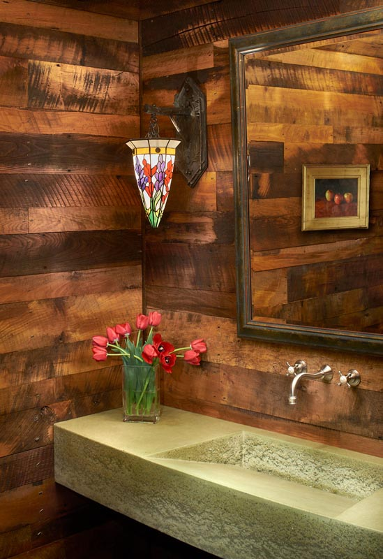bathroom custom renovation by gerber berend design build steamboat springs colorado