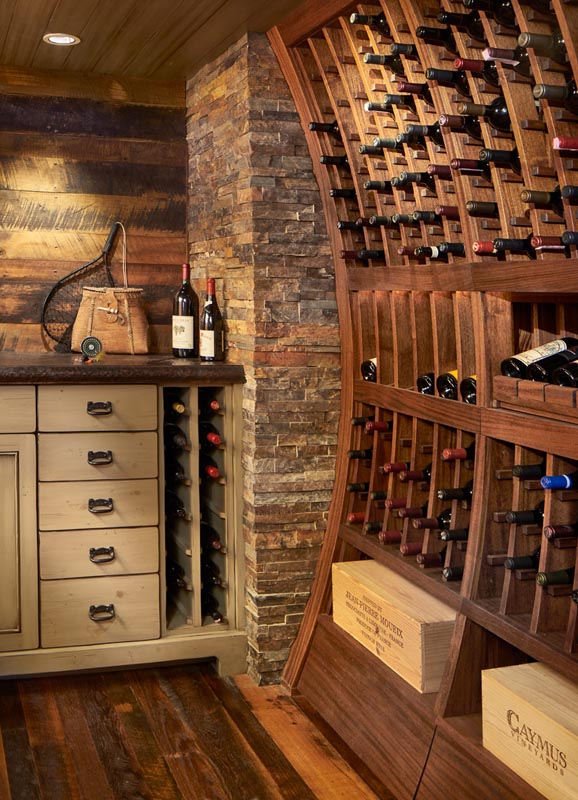 wine cellar renovation by gerber berend design build
